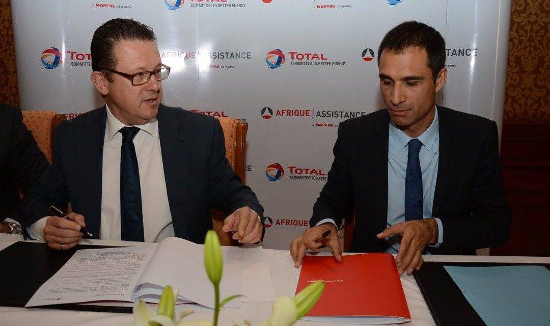 Partenariat entre TOTAL Tunisie et Afrique Assistance