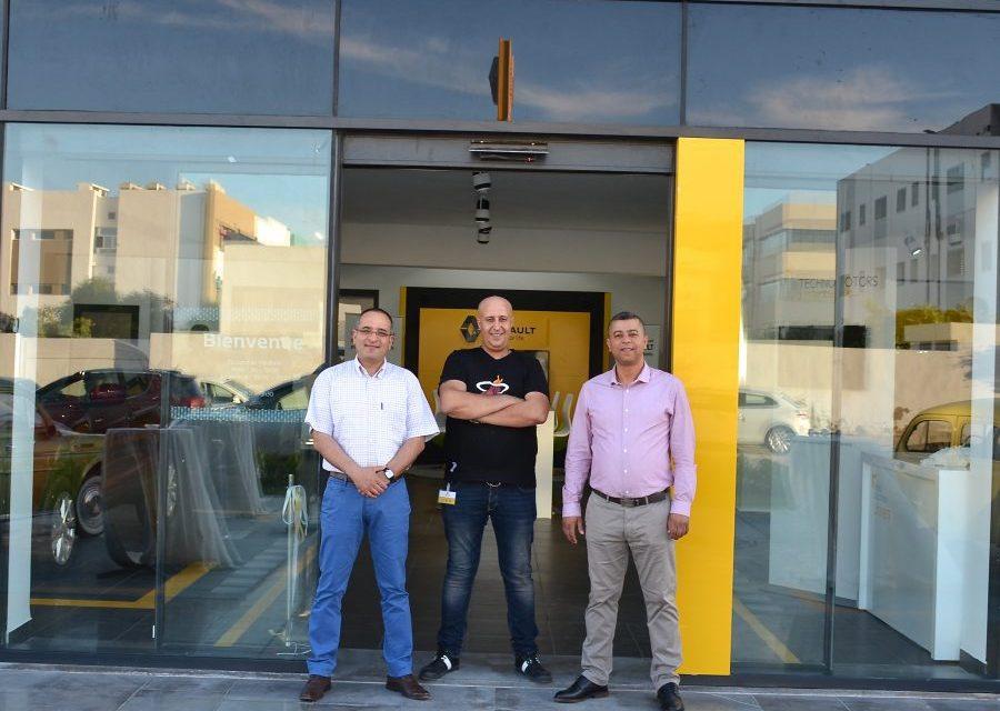 Nouvelle Agence Techno Motors (Renault) à la Zone d'Affaires du Kram.