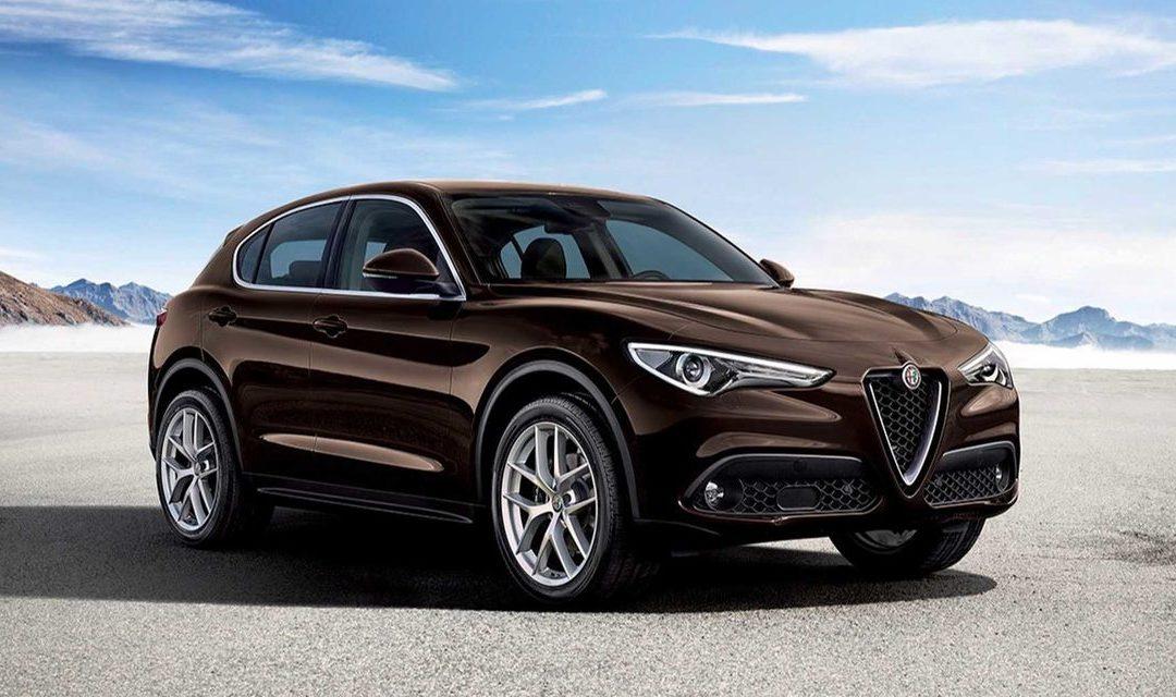 Le 1er SUV Alfa Romeo Stelvio à ITALCAR