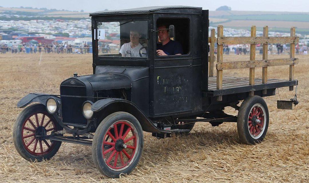 Ford démarrait sa saga des véhicules utilitaires il y a 100 ans