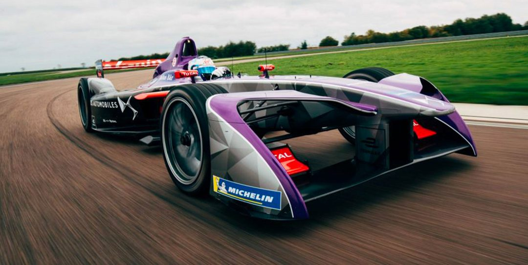 DS VIRGIN RACING sur le Podium de l'E-PRIX DE MARRAKECH 2018