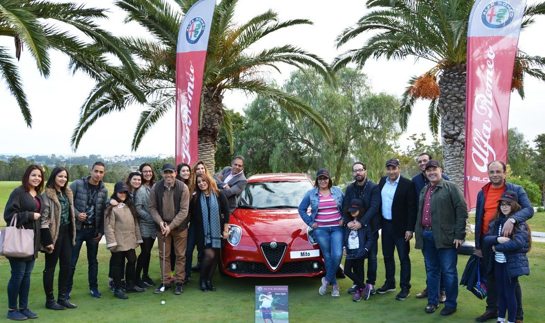 ITALCAR SA sponsor officiel de l'évènement Junior Open Golf 2018