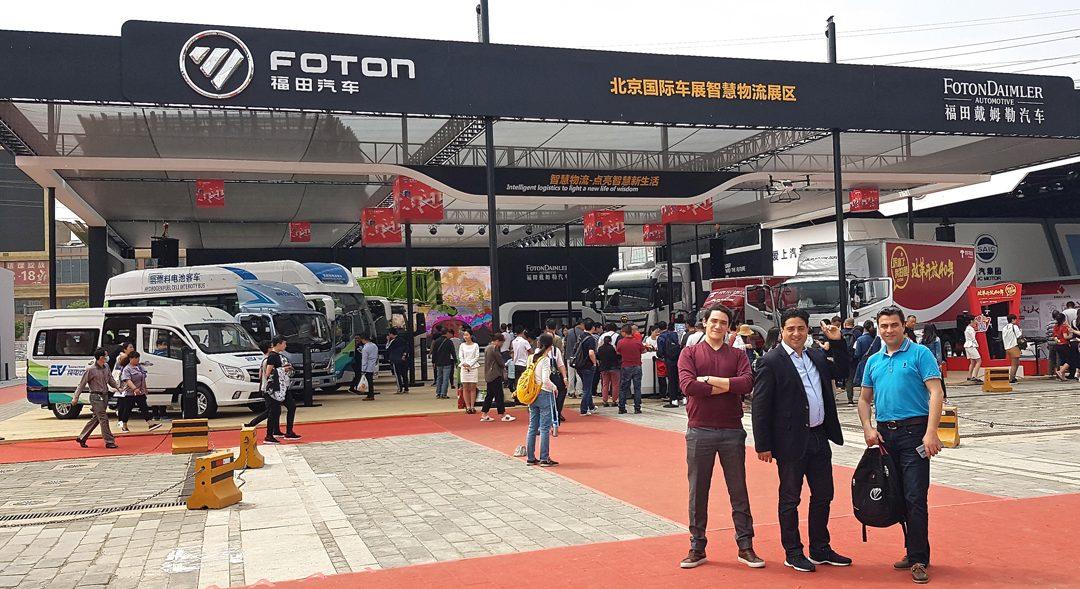 Auto Show Beijing 2018: la marque chinoise Foton, c'est du lourd!