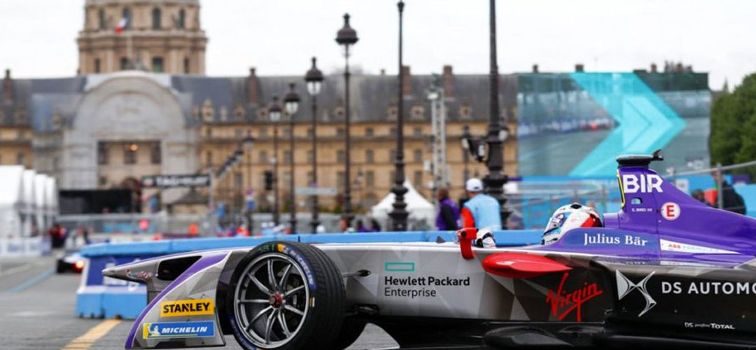 Formula E : PODIUM PARISIEN POUR SAM BIRD ET DS VIRGIN RACING