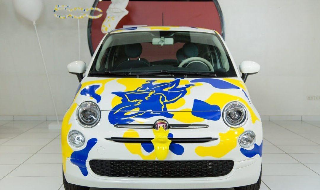 Italcar offre un new look « SimplementHappy » à la FIAT 500