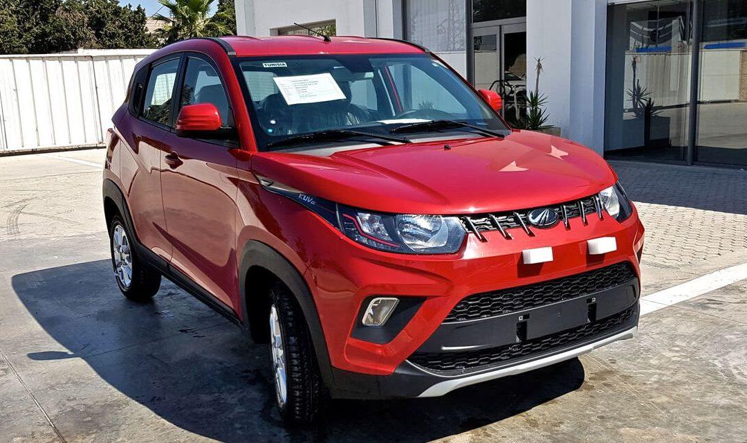 MAHINDRA KUV100, nouvel arrivage et nouveaux prix pour novembre 2018
