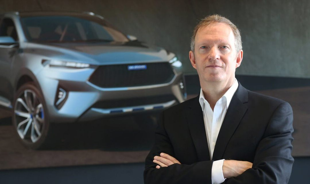 Phil Simmons, designer extérieur chez Land Rover opte pour Great Wall-Haval