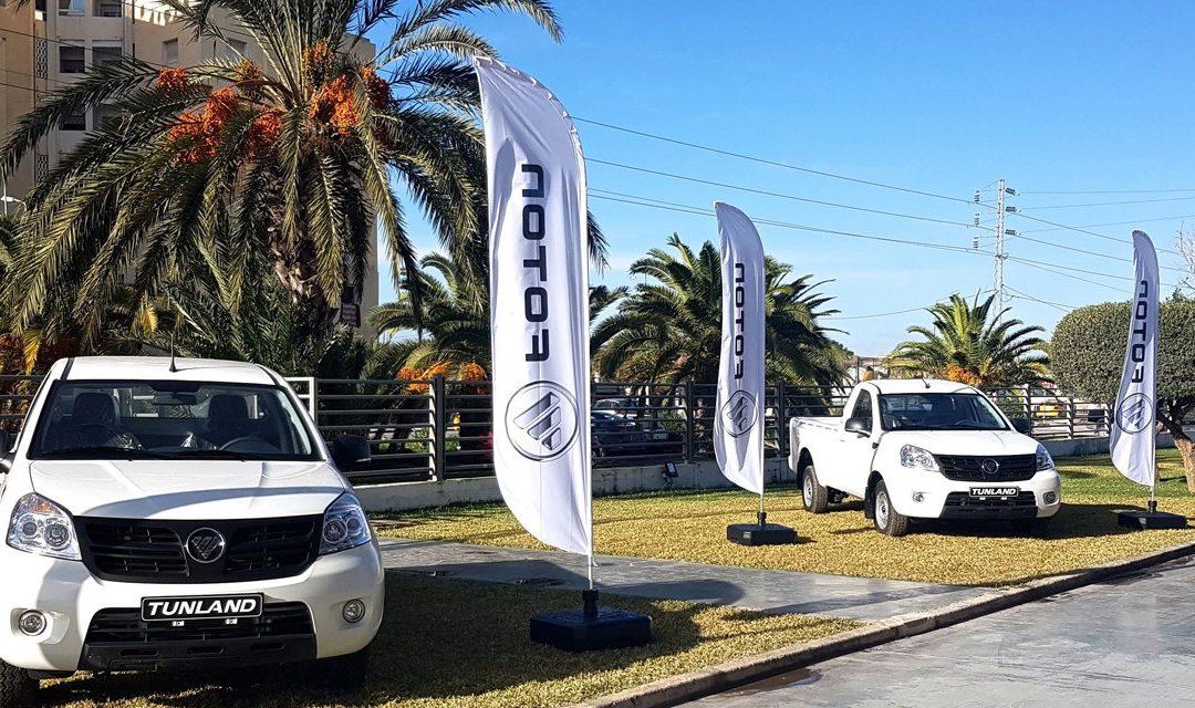 Nouveau pick up FOTON Tunland Simple cabine 4×2 disponible à Economic Auto