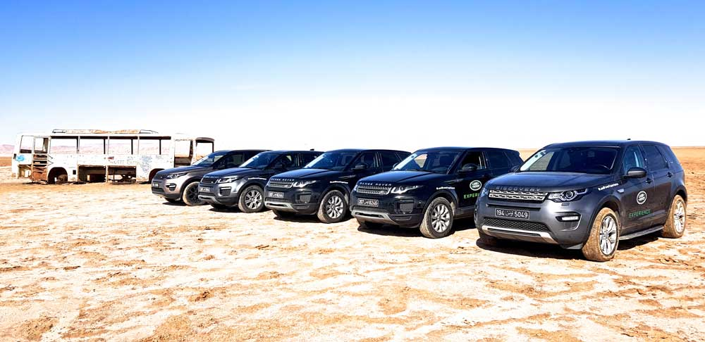 «Land Rover-Jaguar-Man Experience Tunisia 2018» de Alpha International Tunisie
