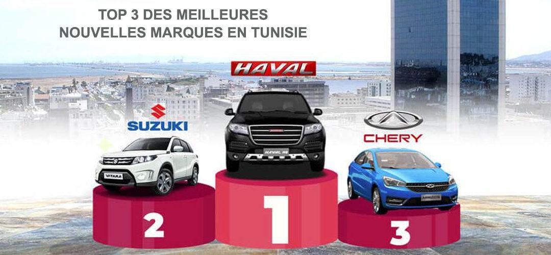 Sondage de la meilleure nouvelle marque en Tunisie: 1er Haval, 2e Suzuki, 3e Chery