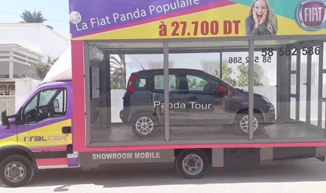 «SUMMER TOUR TUNISIA 2019» POUR LA FIAT PANDA VERSION POPULAIRE