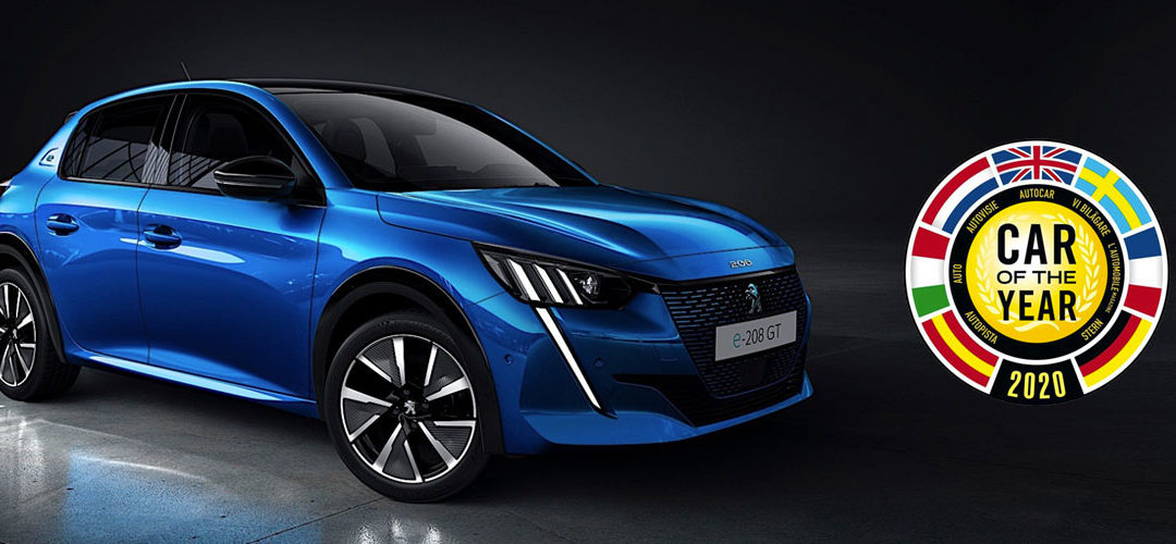La Nouvelle Peugeot 208 « Car Of The Year 2020 »