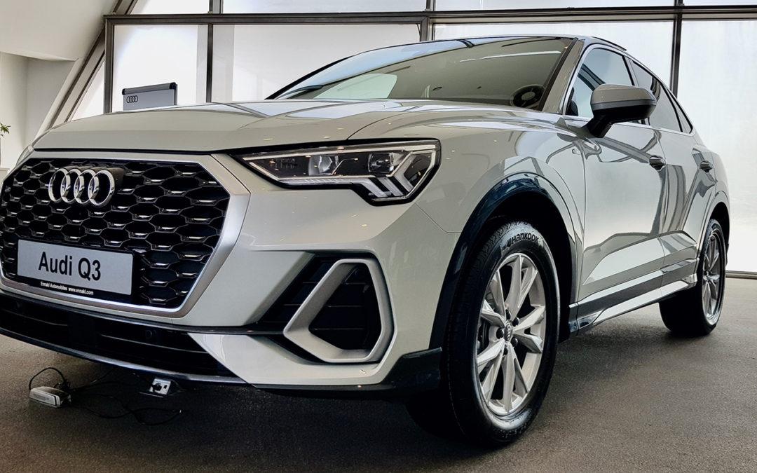 Nouveau AUDI Q3 Sportback disponible à AUDI ENNAKL