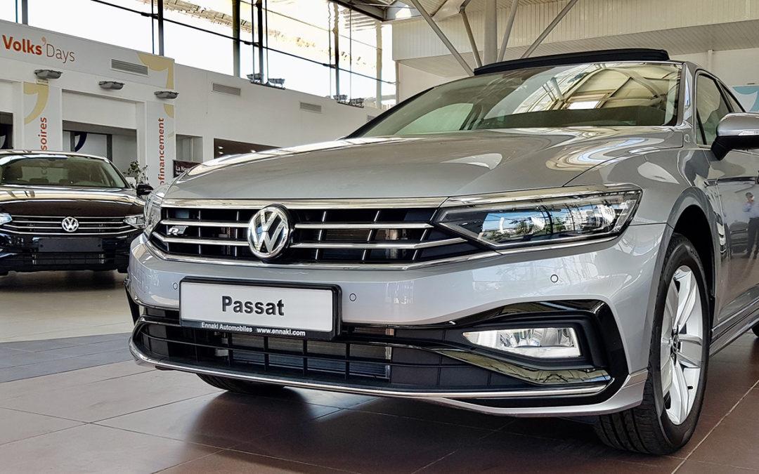 Nouveauté: La Volkswagen PASSAT R-LINE Facelift disponible à ENNAKL