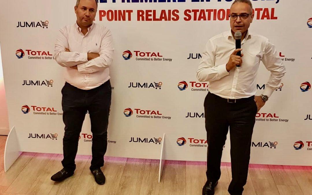 Total Tunisie signe un accord de partenariat avec Jumia Tunisie,  leader du E-commerce dans le pays