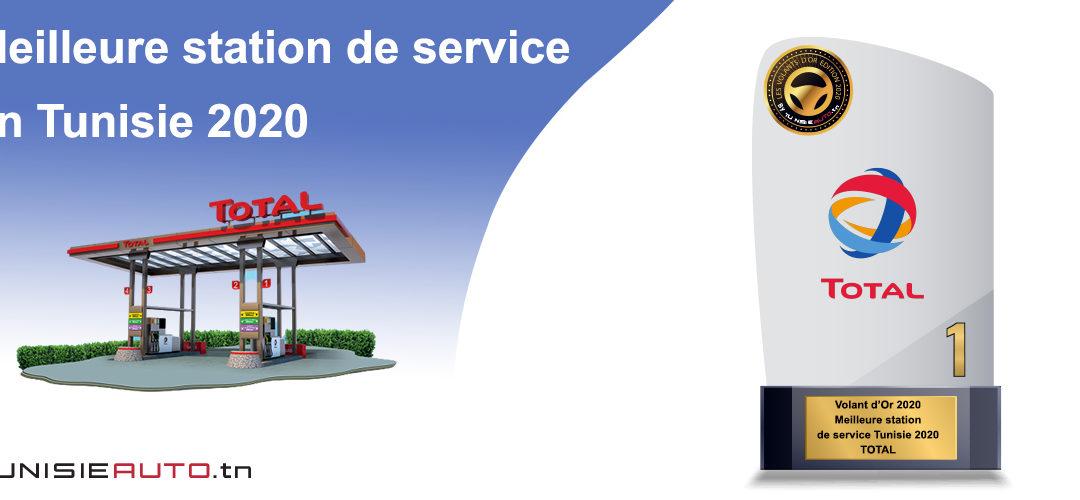 TOTAL ÉLU MEILLEURE STATION DE SERVICES 2020