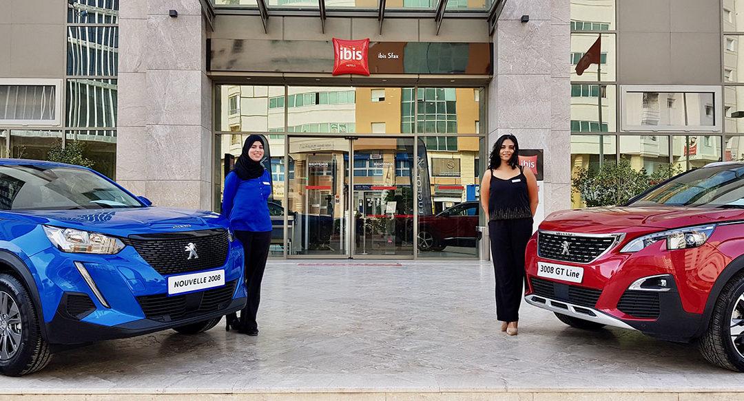 Sfax découvre la nouvelle Peugeot 2008 ainsi que le concept international «Apéros Entrepreneurs»