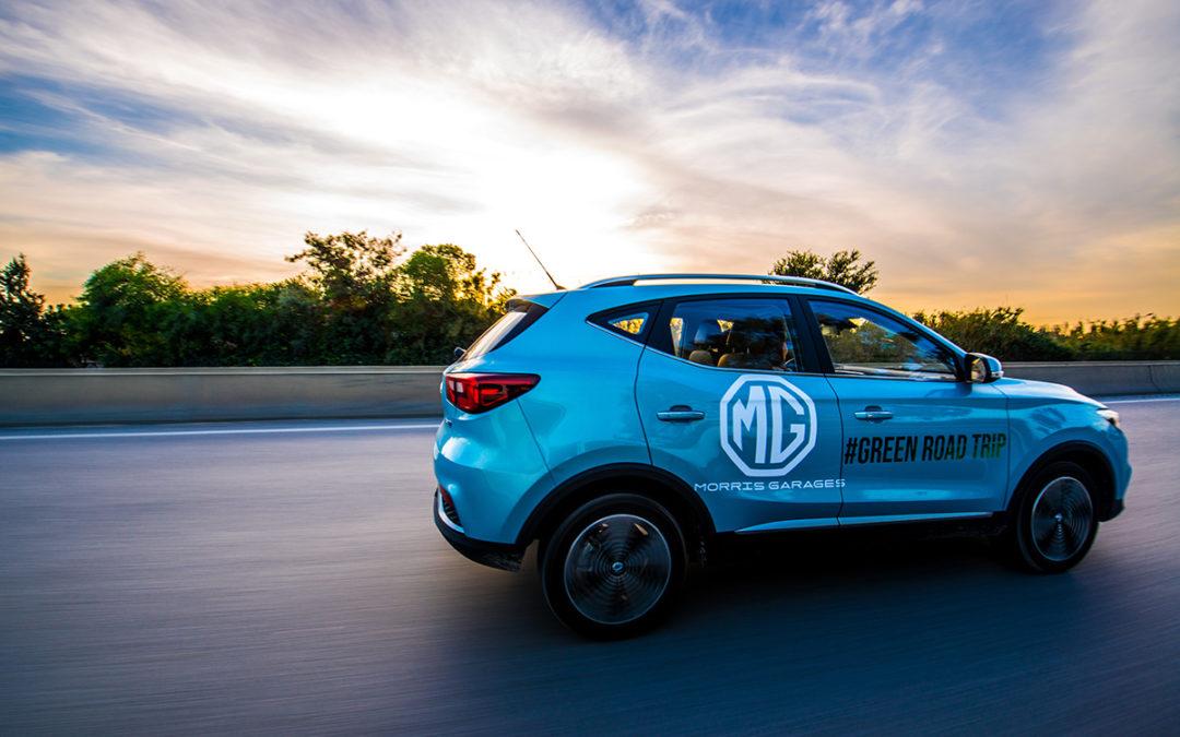 Total Tunisie et MG Motors organisent un « Road Trip » au Volant du SUV MG ZSE 100% électrique