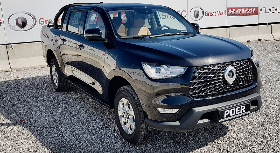 NOUVEAU PICK-UP GREAT WALL POER 4WD 2.0L 163 CH DE ATLAS AUTO HAVAL TUNISIE